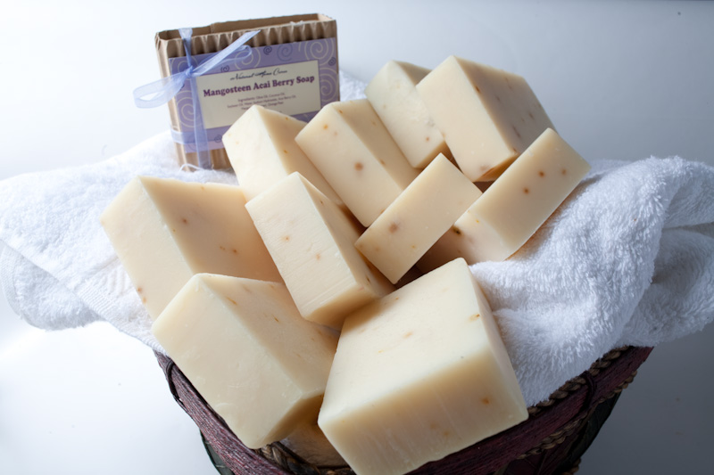 Mangosteen Acai Berry Soap